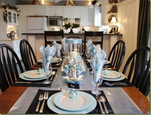 vanocni dekorace stolu 2